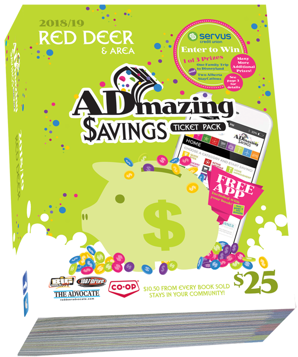 Admazing Savings Red Deer