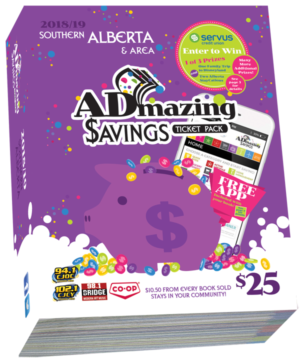 Admazing Savings Southern Alberta