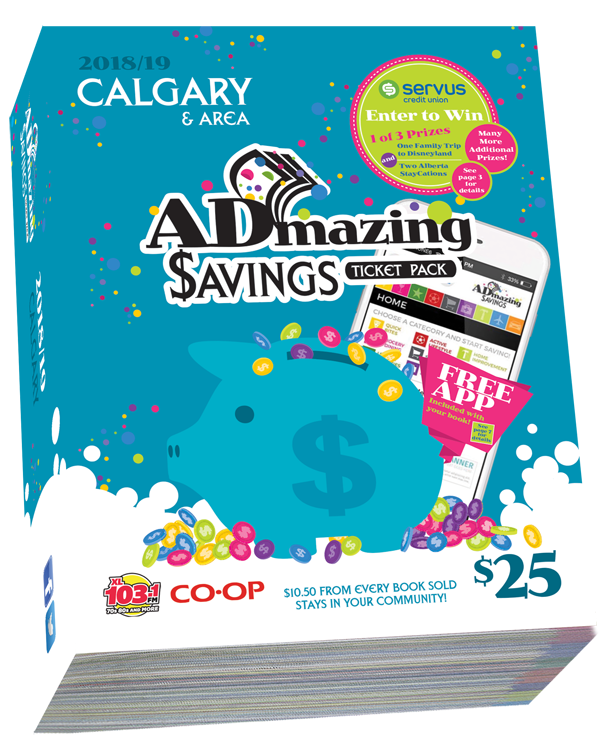 Admazing Savings Calgary